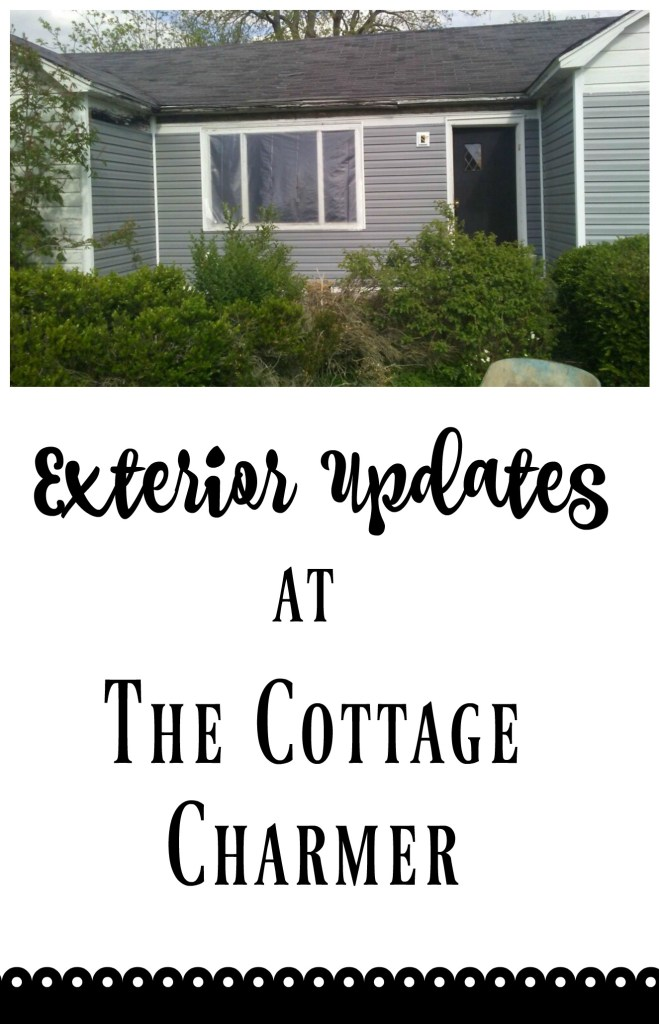 The cottage charmer fixer upper house has made some progress on the exterior, and it is truly shaping up nicely!