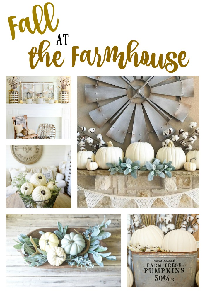Fall and Farmhouse goes hand in hand. If you love farmhouse style and you need some decorating inspiration, this is the post for you! Enjoy lots of neutral, simple, farmhouse goodness all in one stop.
