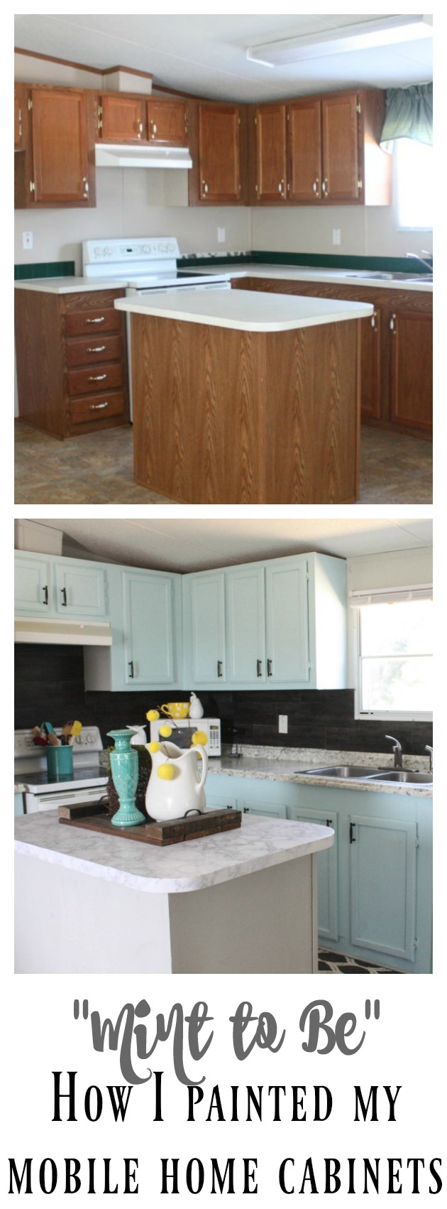 Mobile Home Cabinet Makeover  ReFabbed