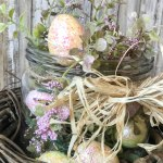 5 minute Easter Table Decor