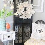 Spring Living Room ~ Adding a little Color!