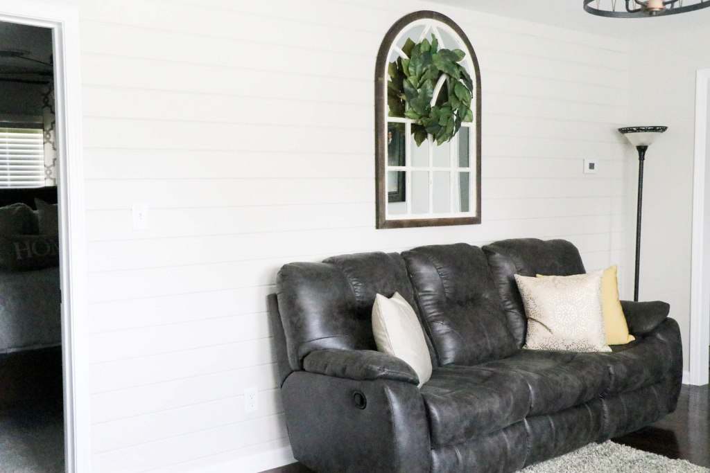 "The most amazing transformation of a cottage charmer home that I have seen. It is truly unreal the difference. And what a gorgeous neutral ""Behr Mineral"" wall color provided by Behr Paint! AMAZING!"