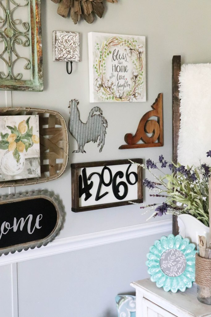 Make this super simple DIY Zip Code Wood Sign house numbers from your local hardware store!