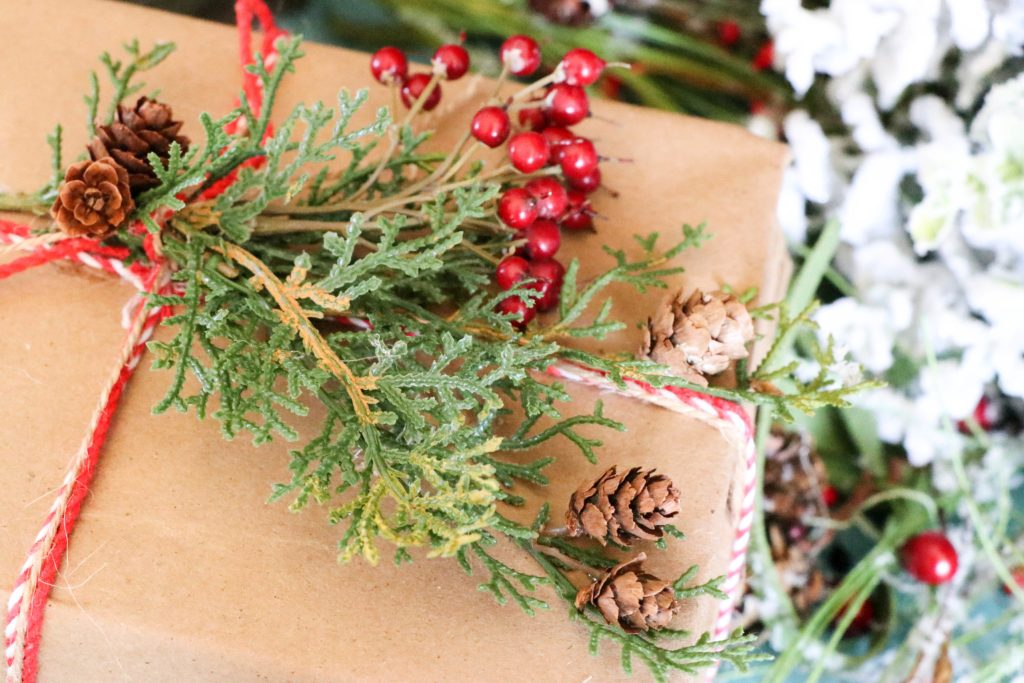 DIY Covered Books for Christmas decor
