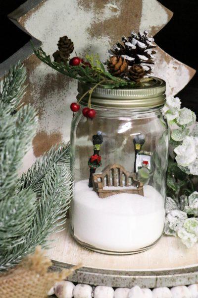DIY Dollar Tree Jar Globe