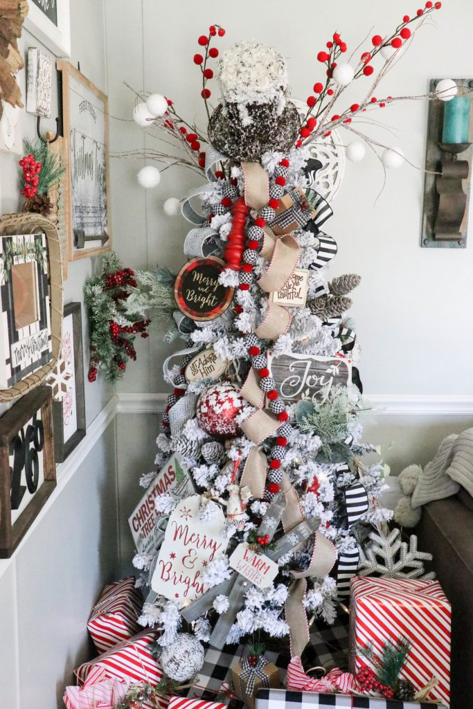 2018 Re-Fabbed Trendy Tree Christmas!