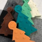 DIY Christmas Tree Crayons
