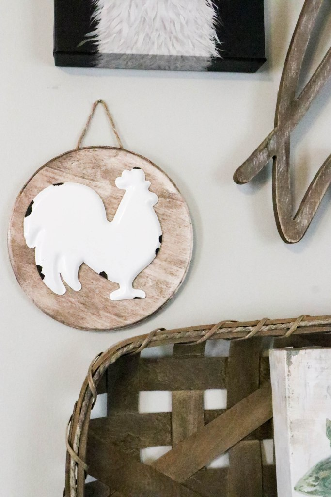 Simple and easy farmhouse DIY for your gallery wall or kitchen!