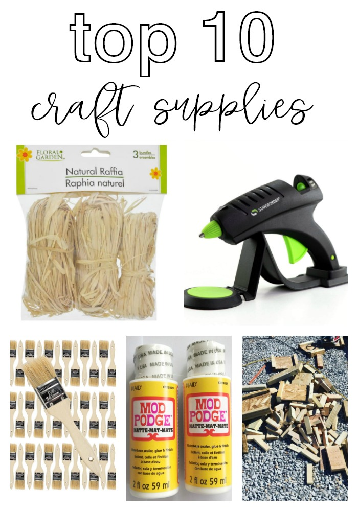 Re-Fabbed's Top 10 Craft Supplies