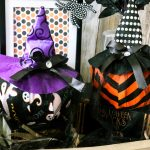 Dollar Tree Witches Hat Citrouilles