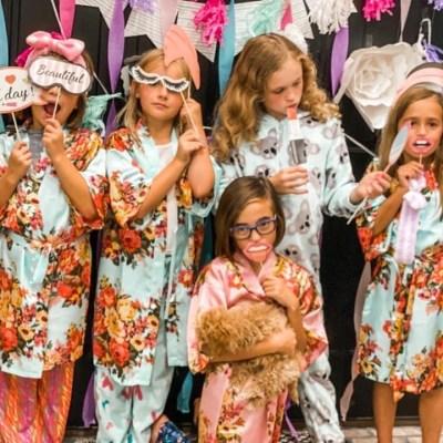Little Girls Spa Birthday Party