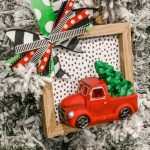 Diy Dollar Store Christmas Truck Ornament Re Fabbed