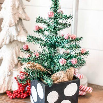 dollar tree christmas tree diy