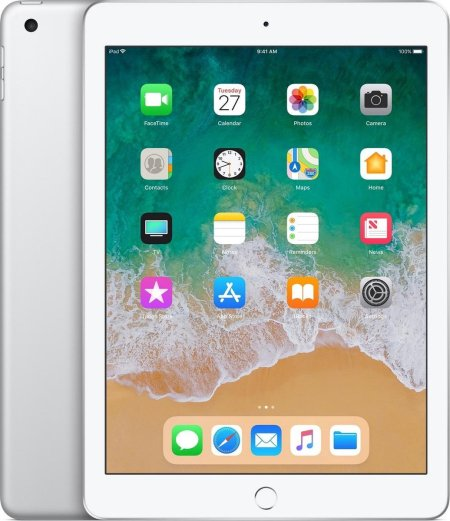 Refurbished Apple iPad 2018 9.7 WiFi Zilver