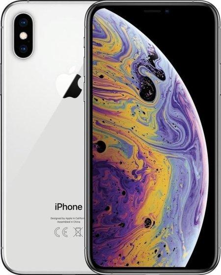 Refurbished iPhone XS Zilver 64GB