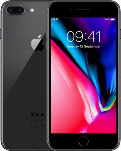 Refurbished Apple iPhone 8 Plus Zwart