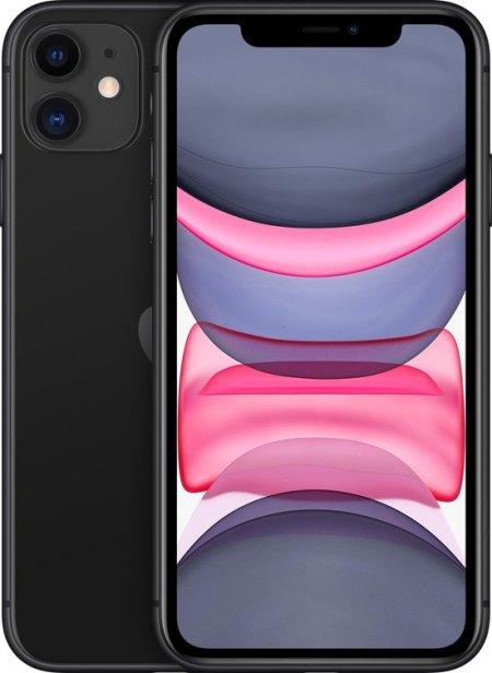 Refurbished iPhone 11 zwart