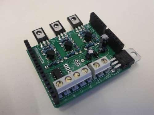 small resolution of rgb led arduino shield
