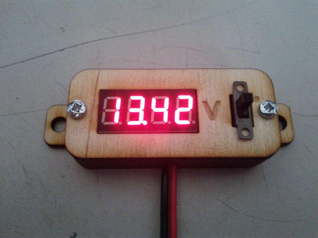 Battery Voltmeter