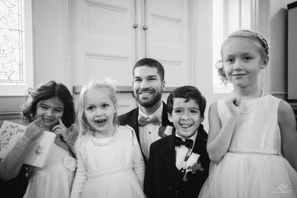 Flower Girls Paige Boys at Lambertville Inn Wedding