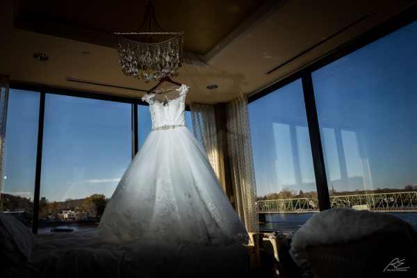 Wedding Dress Stella York Lambertville station Inn