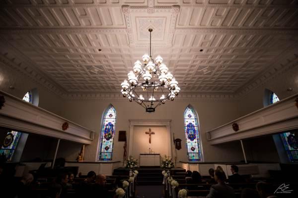 Neshanic Reformed Church in Hillsborough, NJ.