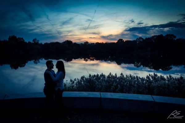 Engagement Session at FDR Park