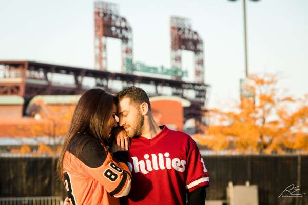 Engagement Session at the Linc Philly