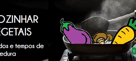 Assar beringela ou couve ... 30`será suficiente?!