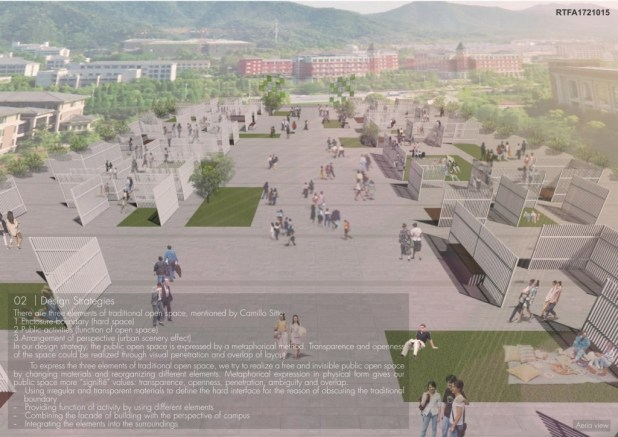 Invisible Plaza - a Metaphor of Public Space in Campus (3)