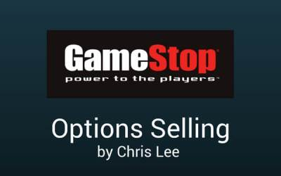 Options Selling Strategy – Wk 3 June 2017 (GameStop Inc (NYSE: GME)