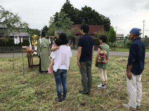 栃木市 地鎮祭