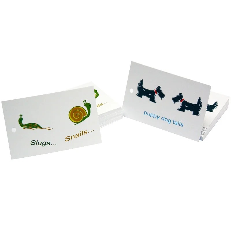 Re-wrapped: ECO Friendly Wrapping Paper Tags Childrens Slugs & Snails by Tracy Umney made from 100% Unbleached Recycled Paper