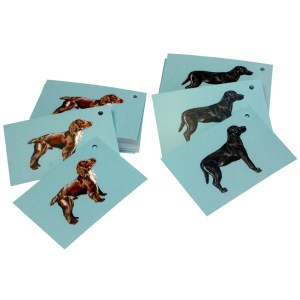 Re-wrapped: ECO Friendly Wrapping Paper Tags Dogs by Sophie Botsford made from 100% Unbleached Recycled Paper