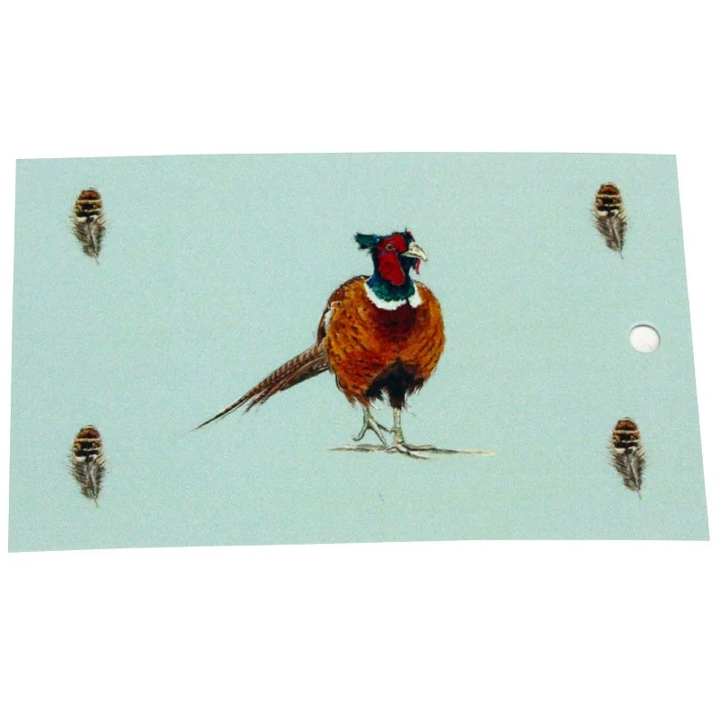 Re-wrapped: ECO Friendly Wrapping Paper Tags Pheasant Game Birds by Sophie Botsford made from 100% Unbleached Recycled Paper