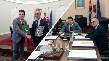 Juan Lozano y Fabian Picardo se reúnen para debatir sobre el Brexit y temas de interés común