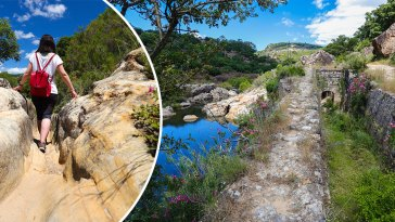Hozgarganta Jimena de la Frontera Hiking Trail Guadiaro River