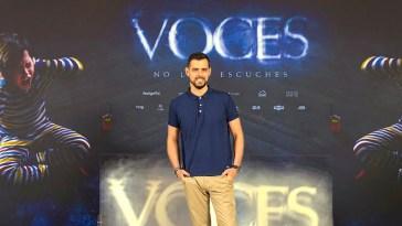 """Director de cine Algecireño, Ángel Gómez debuta con su película de horror """"VOCES"""
