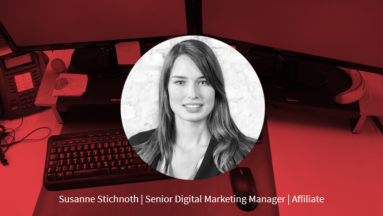 Susanne Stichnoth  Senior Digital Marketing Manager Affiliate  The Reach Group GmbH