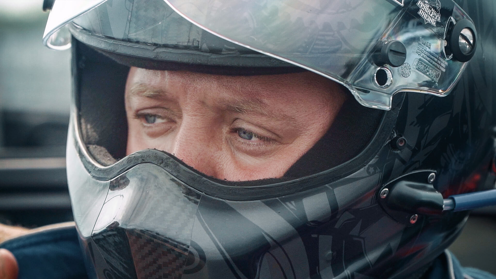 Josh Hart is all focus prior to qualifying at the 2019 NHRA U.S. Nationals.