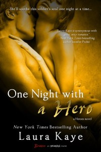 Review….One Night With A Hero by Laura Kaye
