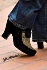 Kat Bastion Author Shoe Photo