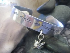 keep calm bracelet