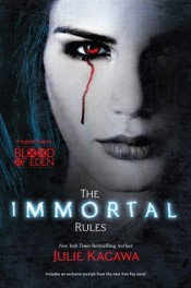Rina's Quick Audio Bytes ~ Audiobook Reviews in Short: The Immortal Rules by Julie Kagawa