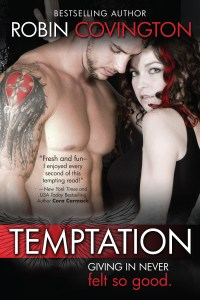 Temptation by Robin Covington…Release Day Event