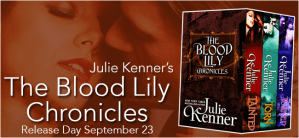 The Blood Lily by Julie Kenner….Release Day Event