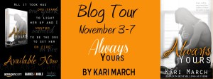 Always Yours by Kari March…Blog Tour Stop