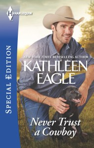 "Harlequin Romance January ""Me Time"" Blog Tour: Movie Star Cast post for Kathleen Eagle's book NEVER TRUST A COWBOY"