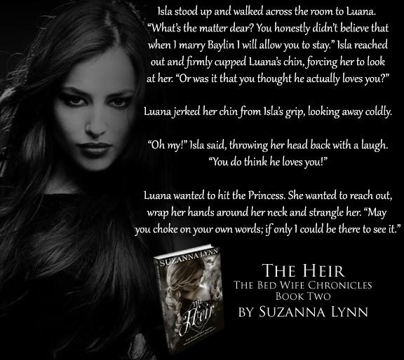 The Heir by Suzanna Lynn - Teaser 02