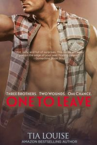 Book Sale Alert….One To Leave by Tia Louise